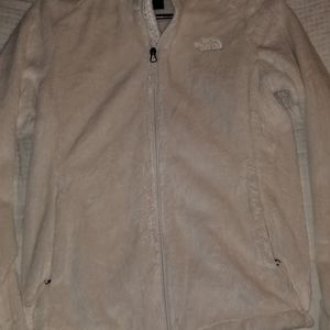 White North face jacket